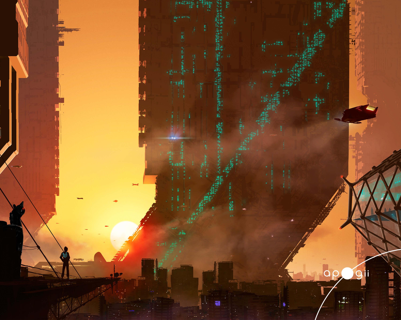 main artwork area of sci fest artwork
