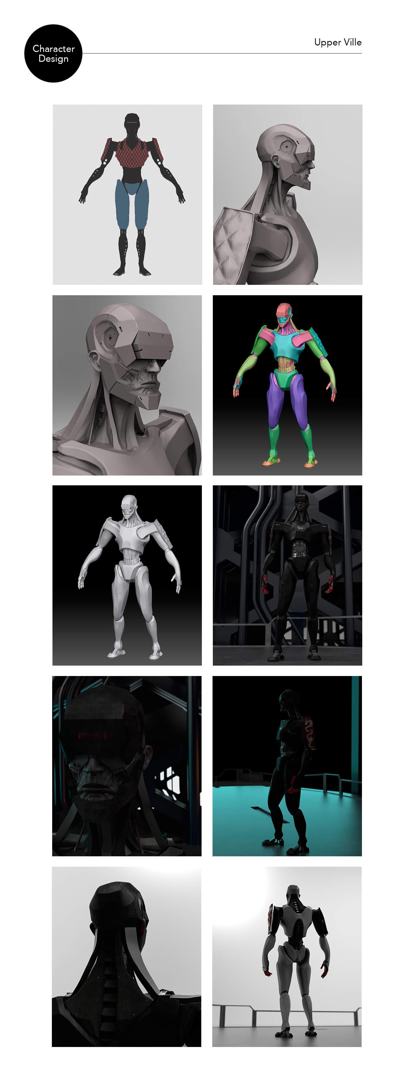 cyborg concepts board