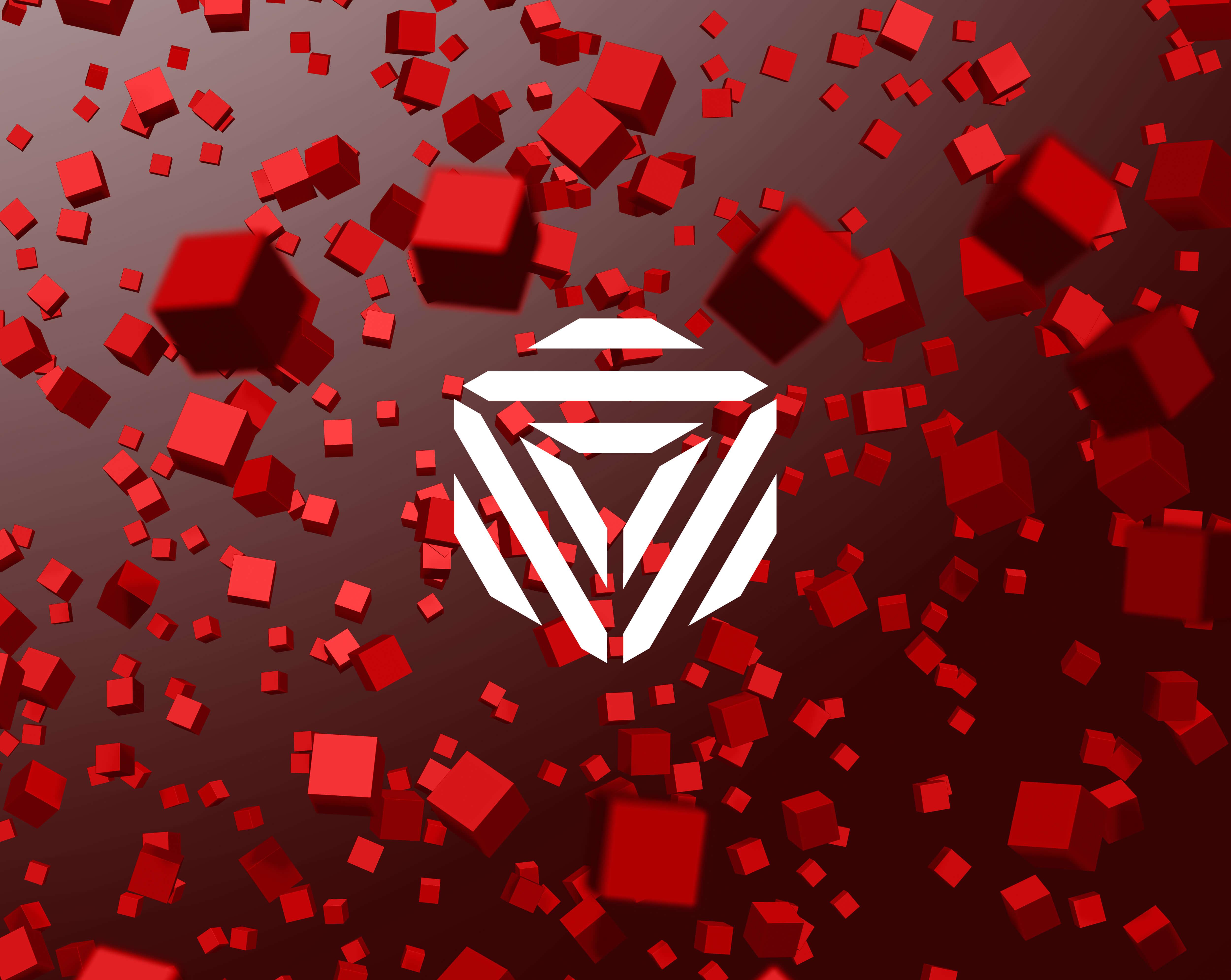 Main artwork for colourcube identity project