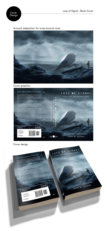 Loss of Signal book cover design